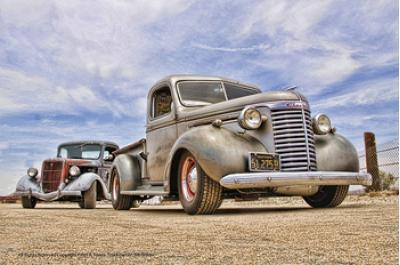 Chevrolet Truck Tin Sign, 24 Gauge Steel, 11 x 17