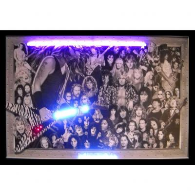 Neonetics Neon/led Pictures, Heavy Metal Neon/led Picture