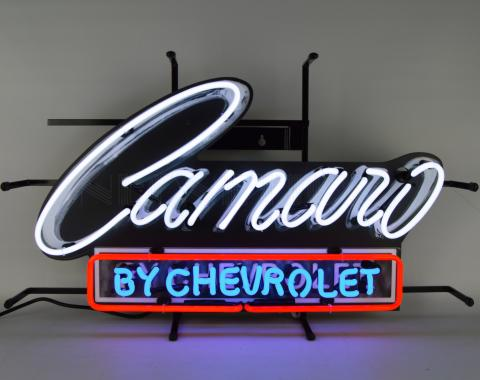 Neonetics Standard Size Neon Signs, Camaro by Chevrolet Neon Sign