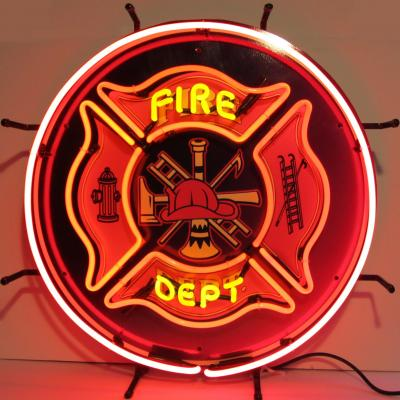 Neonetics Standard Size Neon Signs, Fire Department Neon Sign