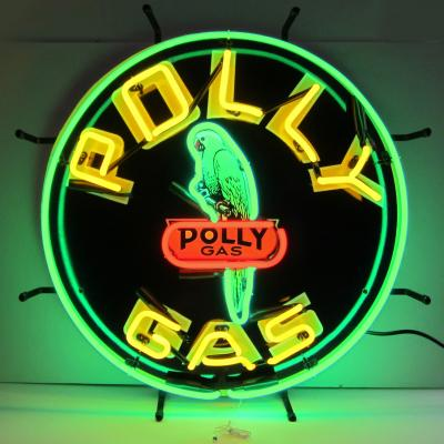 Neonetics Standard Size Neon Signs, Gas - Polly Gas Neon Sign