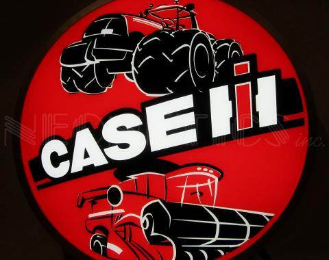 Neonetics Backlit and Specialty Led Signs, Case Ih International Harvester Tractors 15 Inch Backlit Led Lighted Sign