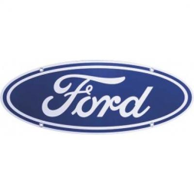 Ford Sign, Single Sided, 18 x 7