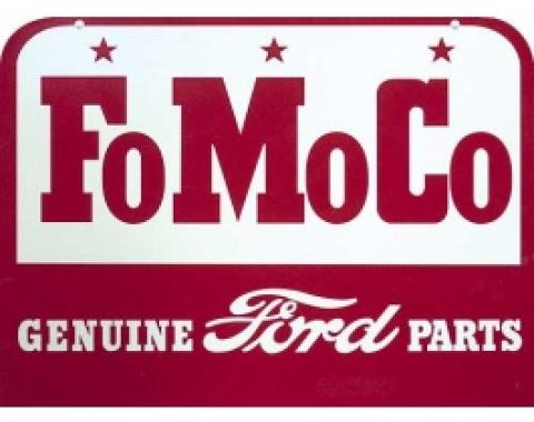 FoMoCo Genuine Ford Parts Sign, Single Sided, 27 x 20