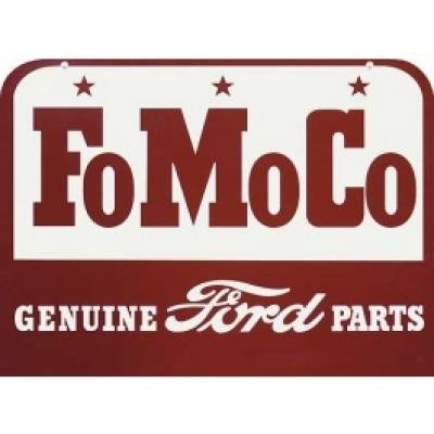 FoMoCo Genuine Ford Parts Sign, Double Sided With Hanger, 27 x 20
