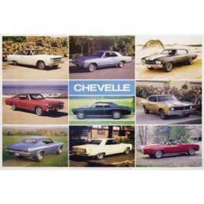 Cheverolet Chevelle Poster