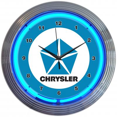Neonetics Neon Clocks, Chrysler Pentastar Neon Clock