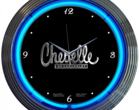 Neonetics Neon Clocks, Chevelle Neon Clock
