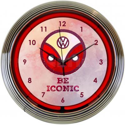 Neonetics Neon Clocks, Volkswagen Be Iconic Neon Clock