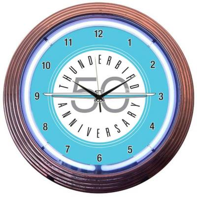 Neonetics Neon Clocks, Ford Thunderbird Neon Clock