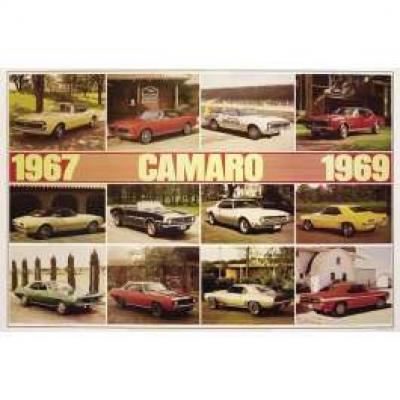 Camaro 1967-1969 Poster