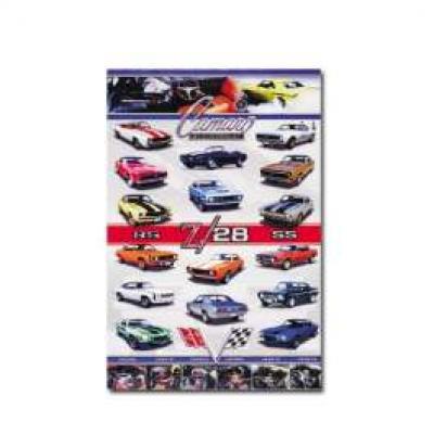 Camaro Poster, 1967-1969