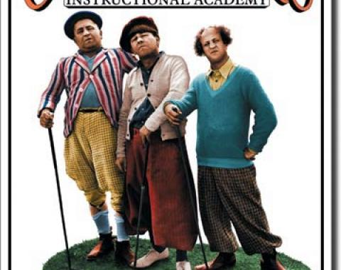 Tin Sign, Stooges - Golf Masters