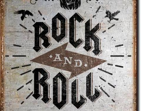 Tin Sign, Rock n Roll Posters