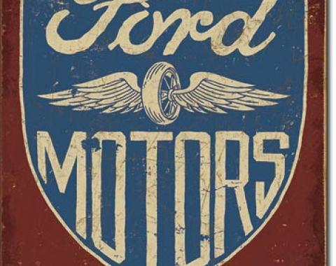 Tin Sign, Ford Motors - Since 1903