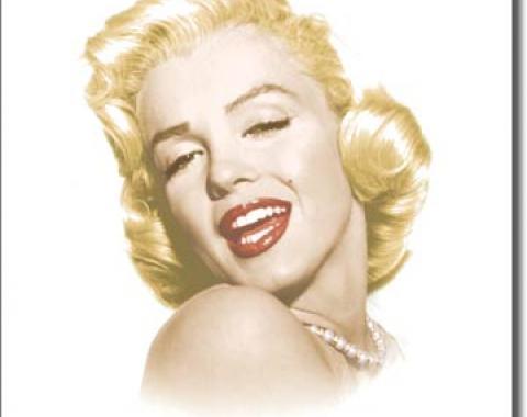 Tin Sign, Monroe - Eternal Beauty