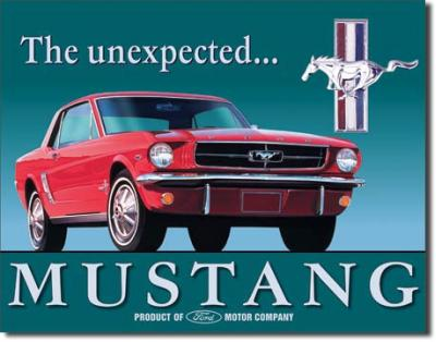 Tin Sign, Ford Mustang