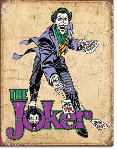 Tin Sign, DC Comics - The Joker
