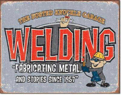 Tin Sign, BKG - Welding