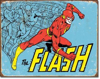 Tin Sign, The Flash - Retro
