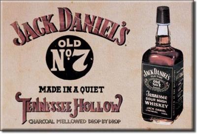 Magnet, Jack Daniels Whiskey