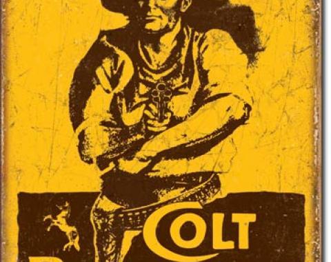 Tin Sign, COLT - World's Right Arm