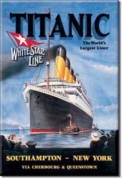 Magnet, Titanic