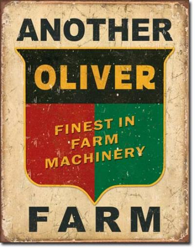 Tin Sign, Another Oliver Farm