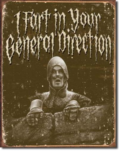 Tin Sign, Python - In Your Direction