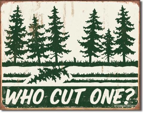 Tin Sign, Schonberg - Cut One?