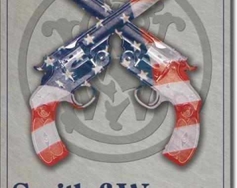 Tin Sign, S&W - American Born