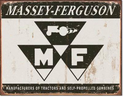 Tin Sign, Massey Ferguson Logo