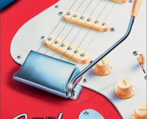 Tin Sign, Fender - Strat since 1954