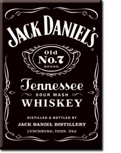 Magnet, Jack Daniel Black