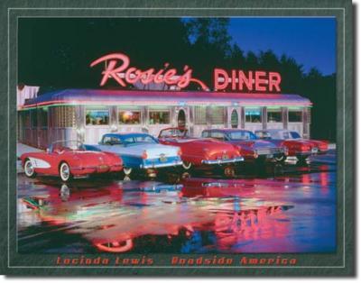 Tin Sign, LEWIS - Rosie's