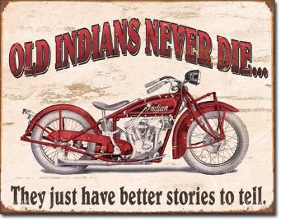 Tin Sign, Indian - Better Stories
