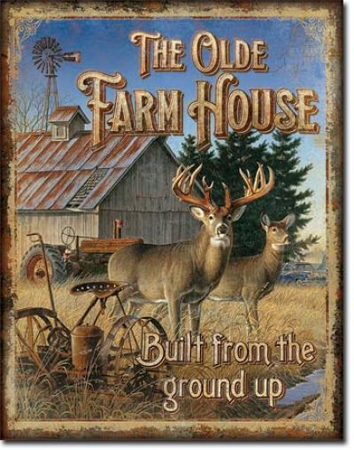 Tin Sign, JQ - Olde Farmhouse