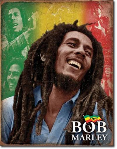 Tin Sign, Bob Marley - Mosaic
