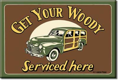 Magnet, Moore - Woody Serviced
