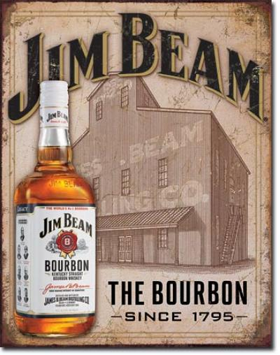 Tin Sign, Jim Beam - Still House