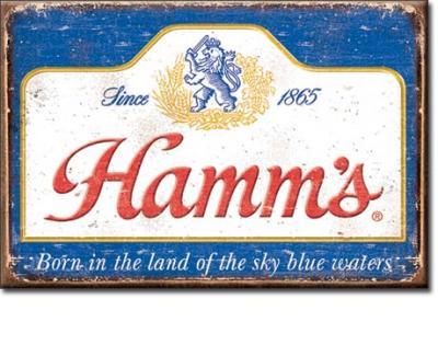 Magnet, Hamm's - Sky Blue