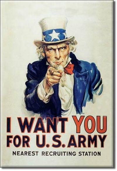 Magnet, Uncle Sam I Want You