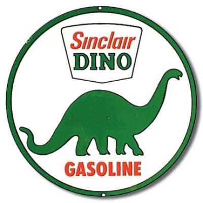 Tin Sign, Sinclair Dino Gasoline