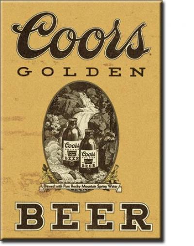 Magnet, Coors Golden Vintage