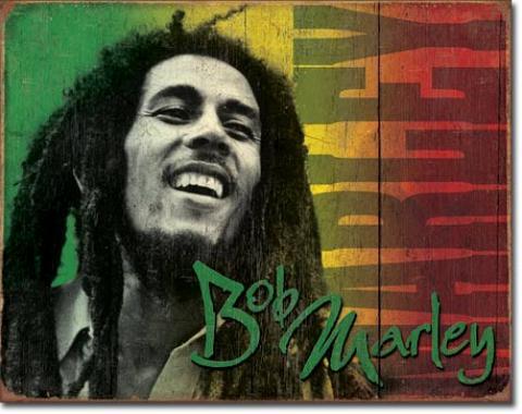 Tin Sign, Bob Marley