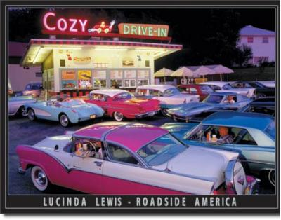 Tin Sign, Lewis - Cozy Drive In