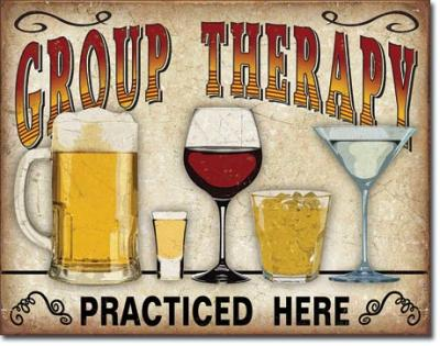 Tin Sign, Group Therapy