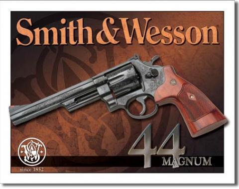 Tin Sign, S&W - 44 Magnum