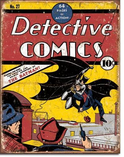 Tin Sign, Detective Comics No27