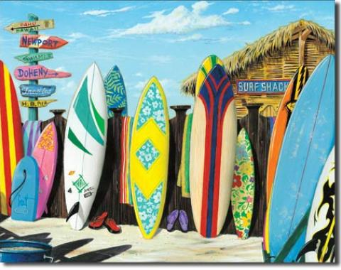 Tin Sign, Westmoreland - Surf Shack
